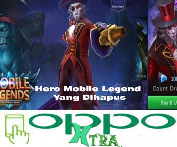 Hero Mobile Legend Yang Dihapus