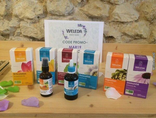 Nouvelles gammes de compléments alimentaires WELEDA