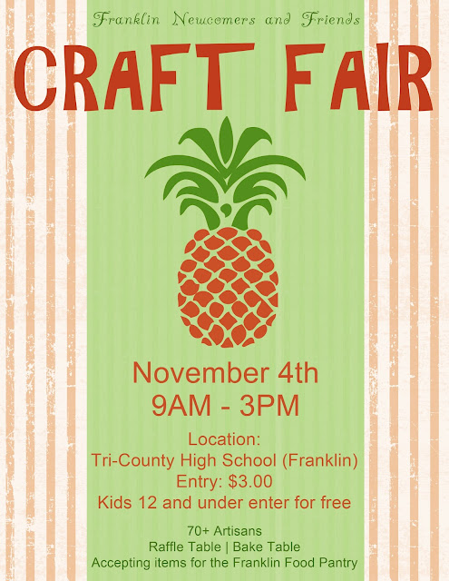 franklin matters newcomers and friends craft fair tri
