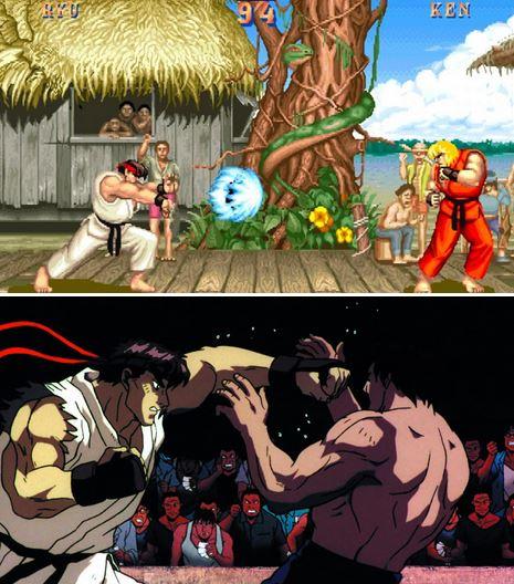 game Street Fighter II V