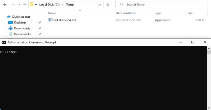PPLdump : Dump The Memory Of A PPL With A Userland Exploit