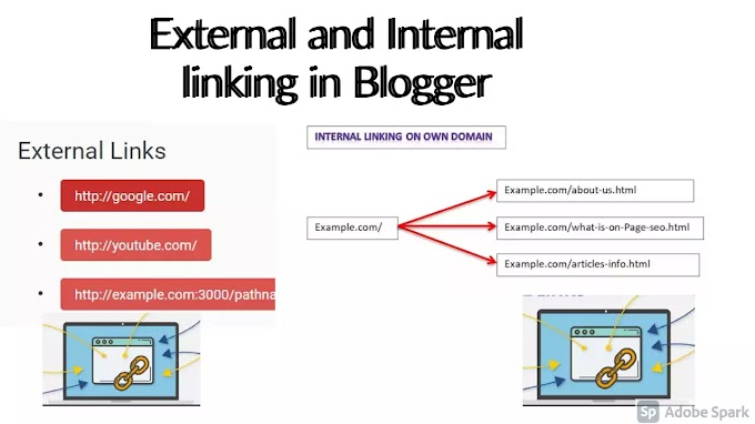 What is outbound and inbound ratio for blog in website?
