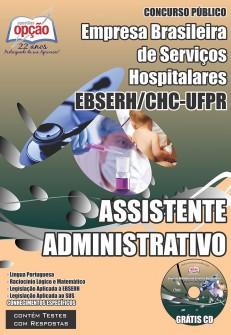 Apostila CHC-UFPR EBSERH - Assistente em Administração