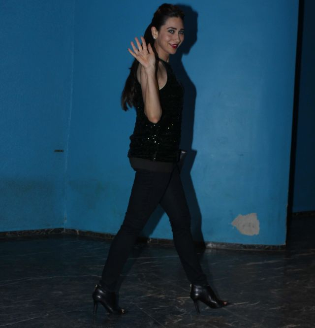Karisma Kapoor At Arbaaz Khan Birthday Celebrations Mumbai