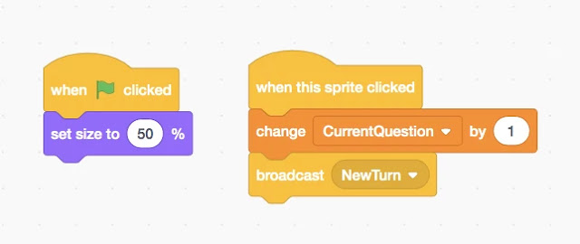 Next Question Button Scripts