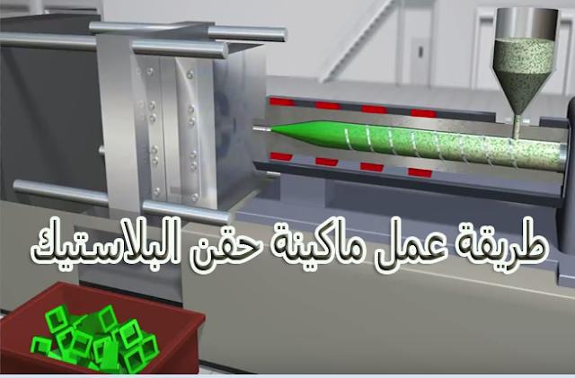 طريقة عمل ماكينة حقن البلاستيك.من الالف الى الياء