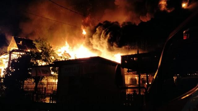 Ibu dan Anak di Soppeng Jadi Korban Keganasan Api