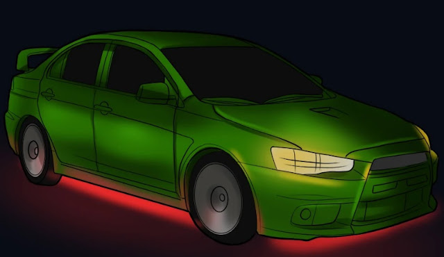 Steps to make Your Neon Car Lighting look the Part!