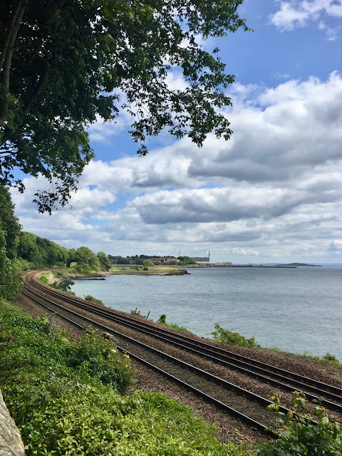 View from Fife Coastal Path, Burntisland