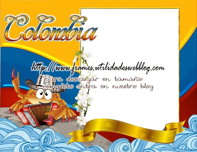 marco para fotos de cancer, marco para fotos de Colombia