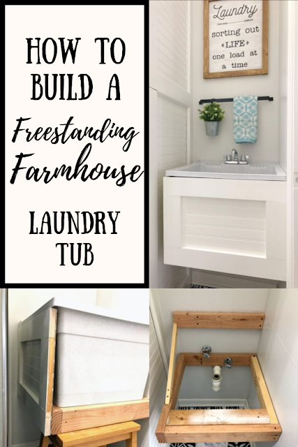 Freestanding Laundry Tub