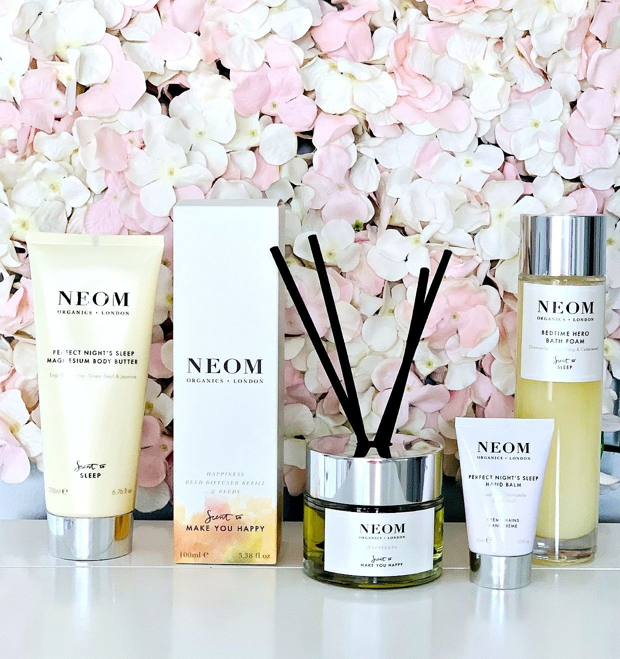 The brand I can't get enough of at the moment: Neom, Neom discount code, Look Fantastic Discount Cod