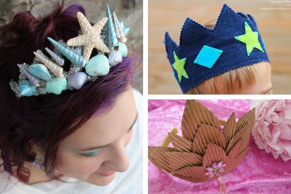 Lots of great ideas for how to make a DIY crown or tiara