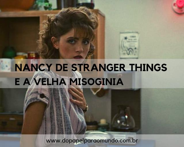 Nancy de Stranger Things