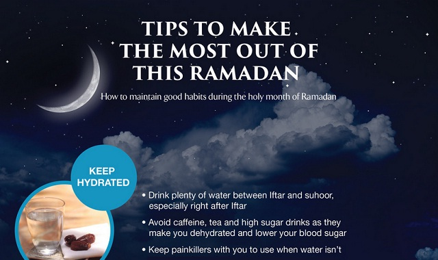 Image: Tips to Make the Most Out of This Ramadan #infographic