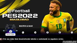 LANÇOU PES 2022 EFOOTBAL PPSSPP ANDROID