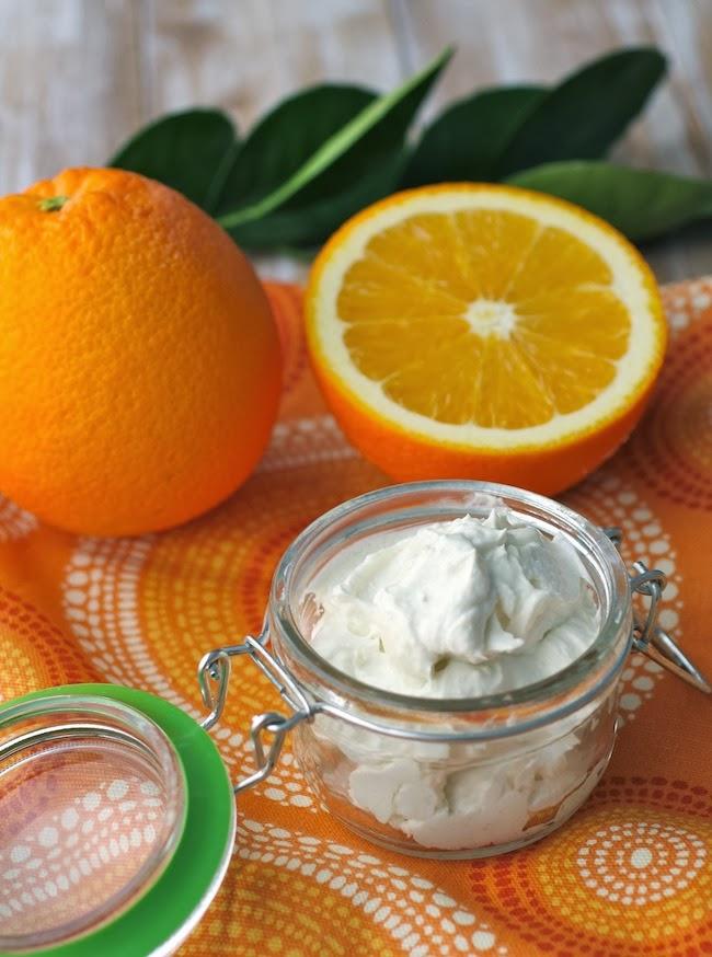 Portakallı Vücut Yağı Yapımı