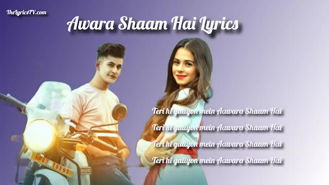 Aawara Shaam Hai Hindi Song Lyrics - Manjul K - Rits B