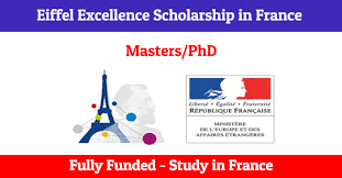 French Government Eiffel Excellence Masters and PhD Scholarships 2021/2022 for Developing Countries