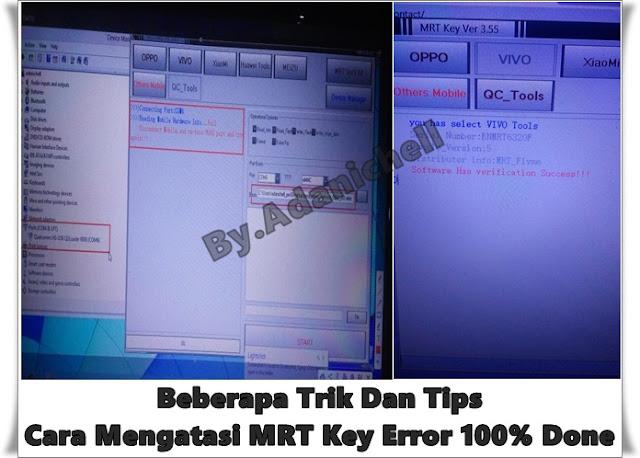 Beberapa Trik Untuk Mengatasi MRT Key Error....!!! 100% Done