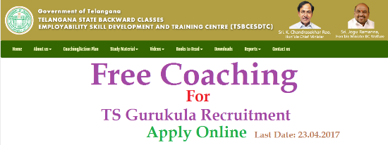 Telangana Public Service Commissin has issued Detailed Gurukula Recruitment Notification to Recruit PGT TGT PET PD Staff Nurse Librarian and Many Posts Free Coaching for Gurukula Recruitments by TS BC Study Circle, Hyderabad | TS BC Study Circle is offering Free Coaching for Telangana Gurukula Residential Intitutions Societies Recruitment notification through Telangana Public Serivce Commission TSPSC for PGT Post Graduate teachers TGT Trained Graduate Teachers | Telangana Backwars Classses Welfare Department established BC Study Circles in Hyderabad to Help needy Youth to achieve their Goals free-coaching-for-gurukula-pgt-tgt-pet-pd-staff-nurse-recruitments-ts-bc-study-circle-apply-online