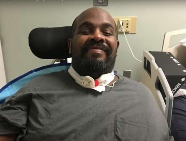 Michael Hickson non è stato curato dal Covid perché disabile (e nero)