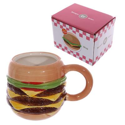 Burger Ceramic Cup