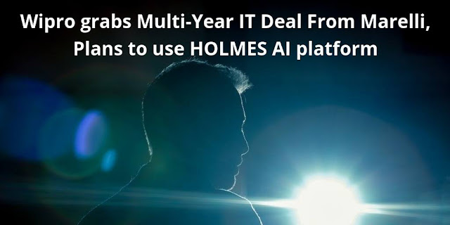 Wipro grabs Multi-Year IT Deal From Marelli, Plans to use HOLMES AI platform
