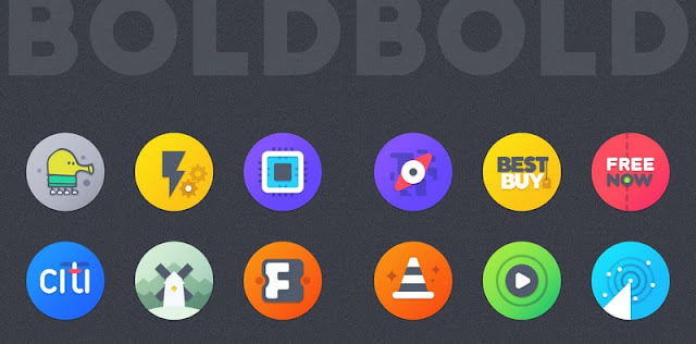 Bold icon pack full apk