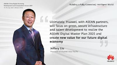HUAWEI มุ่งมั่นส่งเสริมนวัตกรรมดิจิทัลด้านพลังงาน เพื่อการพัฒนาที่เป็นมิตรกับสิ่งแวดล้อมของอาเซียน