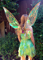 Cellophane Tinkerbell Wings Tutorial
