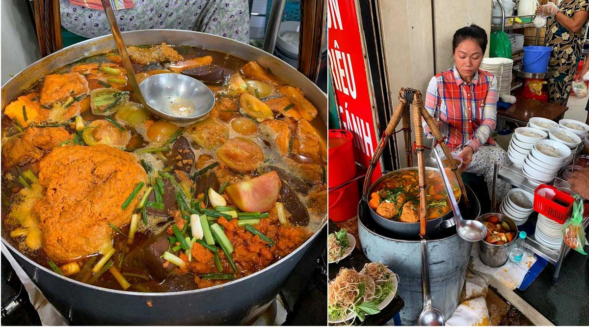 Quán ăn bún riêu ngon ở Sài Gòn