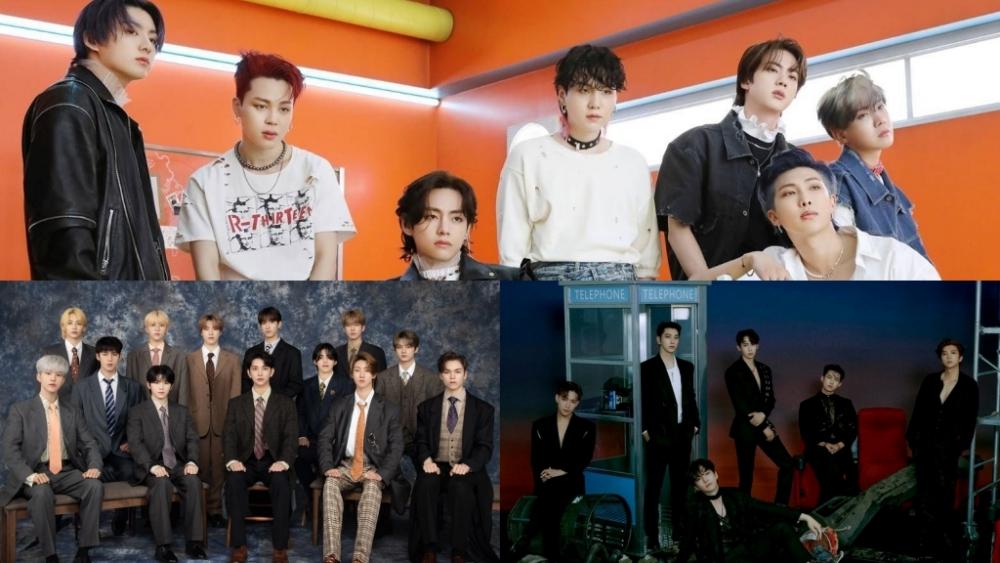 Ranking of K-Pop Boy Groups Brand Reputation in July 2021!