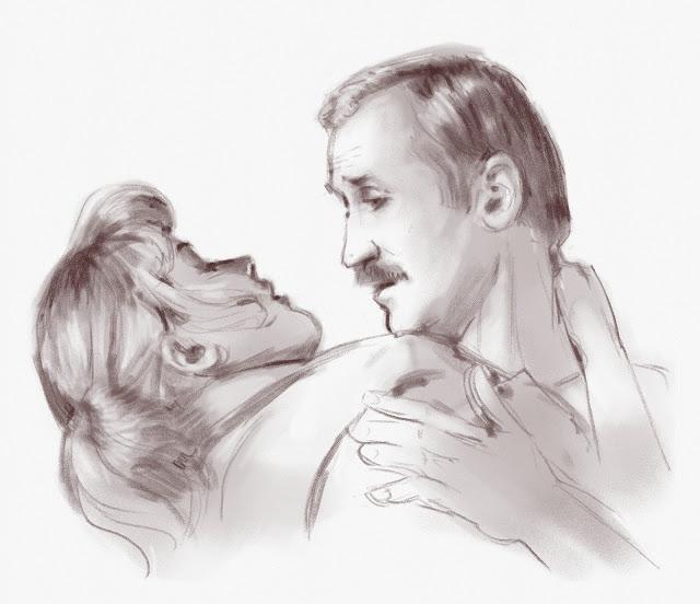 Александра Яковлева (Тамара) и Леонид Филатов (Скворцов)