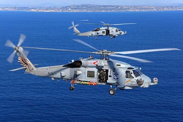 Sikorsky MH-60R Seahawk हैलीकॉप्टर