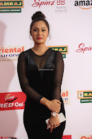 Vennela in Transparent Black Skin Tight Backless Stunning Dress at Mirchi Music Awards South 2017 ~  Exclusive Celebrities Galleries 027.JPG