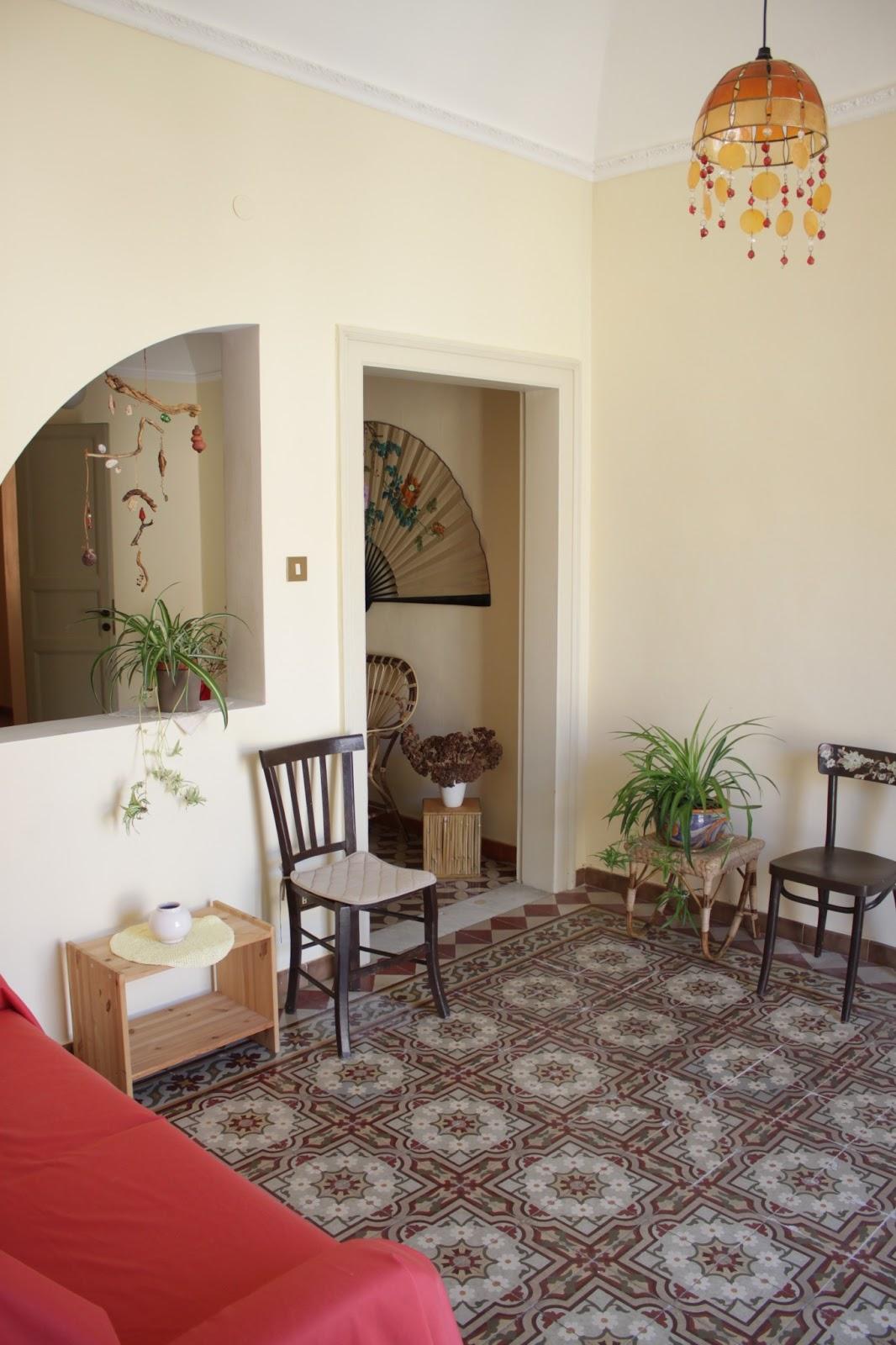 Carolina holiday apartment trapani sicilia soggiorno for Soggiorno a trapani
