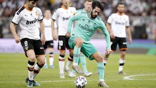 Real Madrid embrace the tiki-taka against Valencia