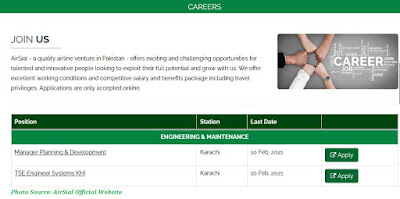 AirSial Jobs 2021 - Latest Jobs in AirSial Limited February  2021 Apply Online