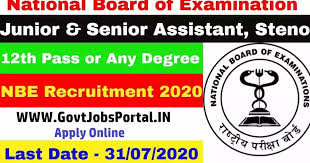 National Board of Examinations (NBE) Recruitment for 90 Various Posts Apply Online @natboard.edu.in /2020/07/NBE-Recruitment-for-Various-90-Posts-Apply-Online-natboard.edu.in.html