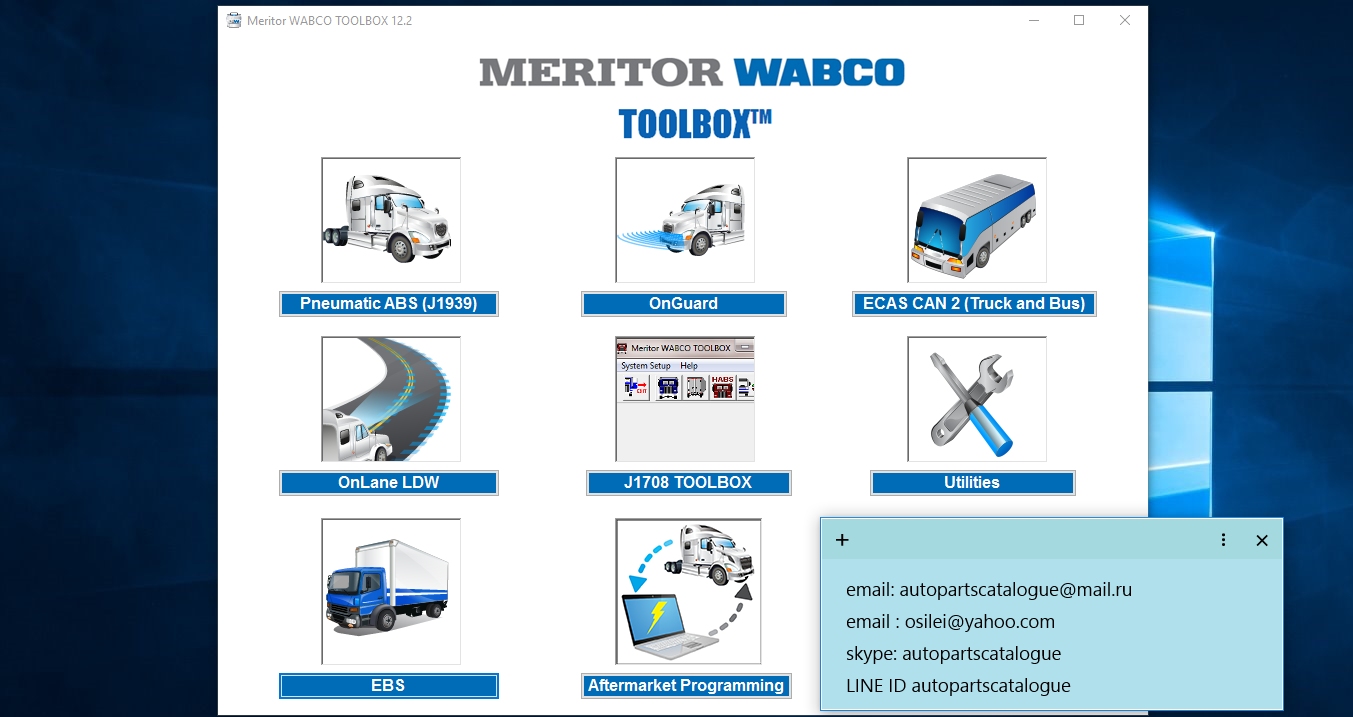 Meritor Wabco Marugoto Wiring Diagram Ebs E Abs