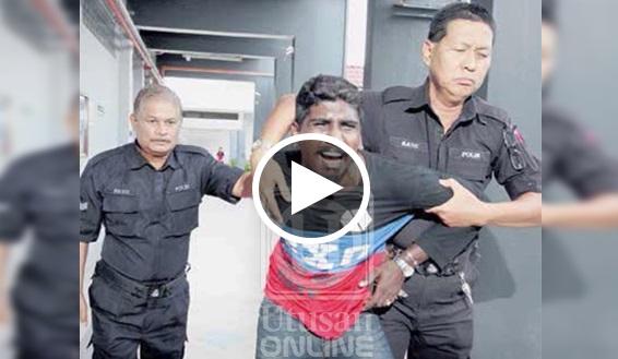 VIDEO 'Tolong ayah, tolong ayah, mereka akan masukkan saya dalam penjara' - Anak meraung bapa tarik balik ikat jamin