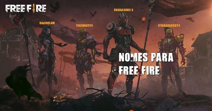 +500 nomes para Free Fire: masculinos, femininos e com símbolos