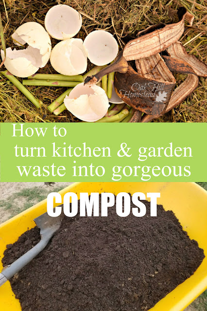 How to turn kitchen and garden waste into compost.