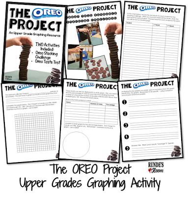 Runde's Room:  The Oreo Project - An Upper Grades Graphing Activity