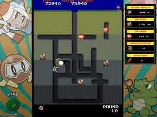 تحميل لعبة Dig Dug مجانا للكمبيوتر من العاب الاركيد