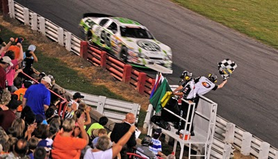 Ben Kennedy's win over Dylan Kwasniewski at Bowman Gray Stadium