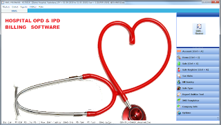 Hospital OPD IPD Billing Software with Medicine Inventory Patients accounts data management Full Financial Hospital Management System HMS