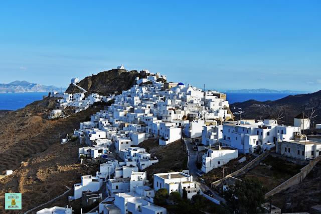 Chora, isla de Serifos (Grecia)
