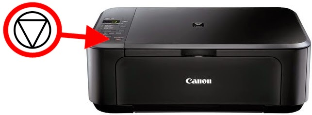 canon printer button reset